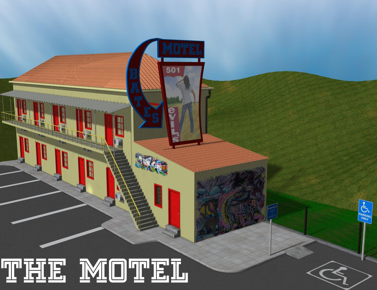 The Motel by greenpots