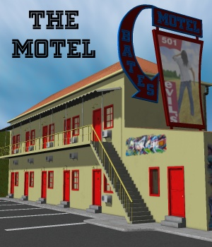 The Motel 3D Models greenpots