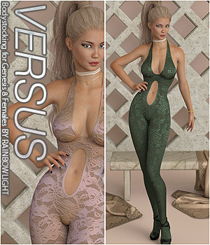VERSUS - Bodystocking for Genesis 8 Females 3D Figure Assets Anagord