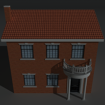 Low Poly House 9 - Extended Licence image 1
