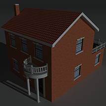 Low Poly House 9 - Extended Licence image 2
