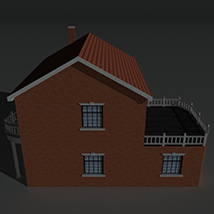 Low Poly House 9 - Extended Licence image 3