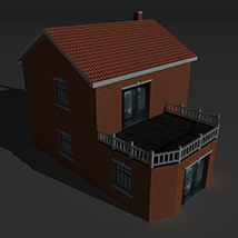 Low Poly House 9 - Extended Licence image 4