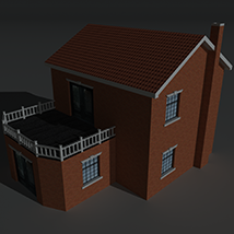 Low Poly House 9 - Extended Licence image 6