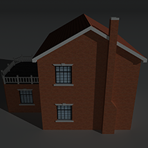 Low Poly House 9 - Extended Licence image 7
