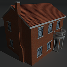 Low Poly House 9 - Extended Licence image 8
