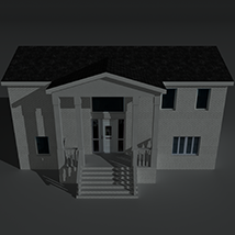 Low Poly House 10 - Extended Licence image 1