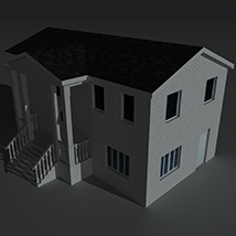 Low Poly House 10 - Extended Licence image 2