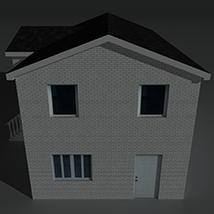 Low Poly House 10 - Extended Licence image 3