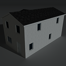 Low Poly House 10 - Extended Licence image 4