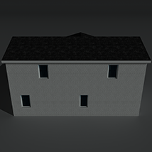 Low Poly House 10 - Extended Licence image 5