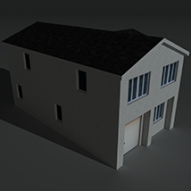 Low Poly House 10 - Extended Licence image 6