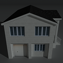 Low Poly House 10 - Extended Licence image 7