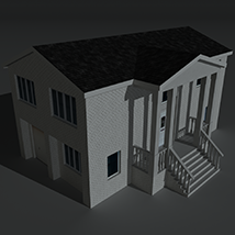 Low Poly House 10 - Extended Licence image 8