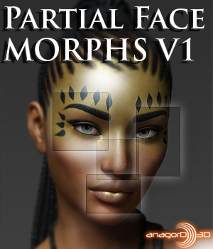 Partial Face Morphs G8F Vol 1