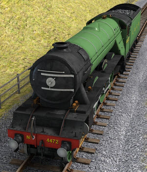 The Flying Scotsman 3D Models DryJack