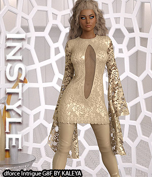 InStyle - dforce Intrigue G8F 3D Figure Assets -Valkyrie-
