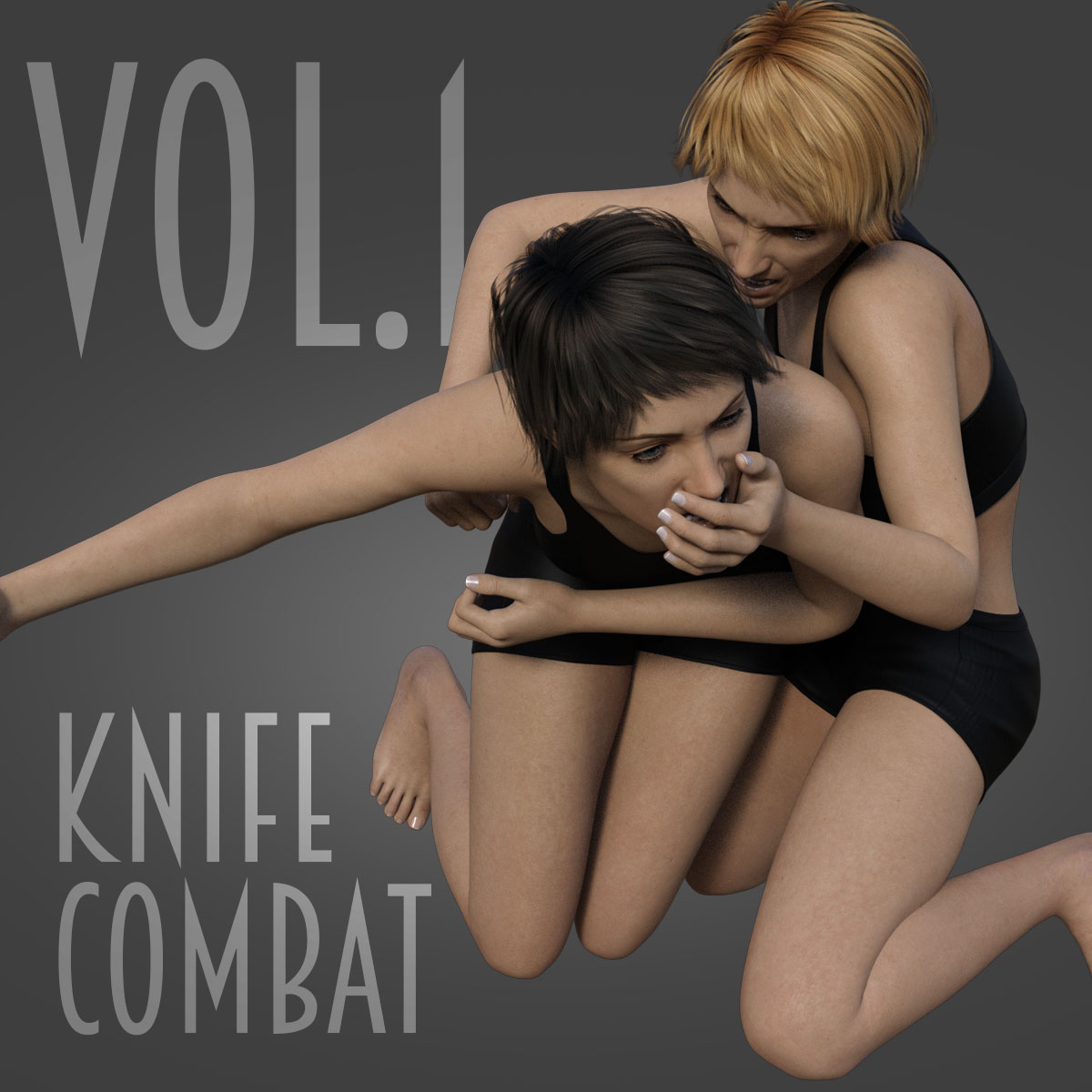 Knife Combat vol.1 for Genesis 8 Female