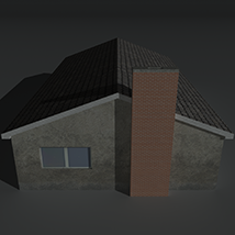 Low Poly House 11 - Extended License image 1