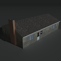 Low Poly House 11 - Extended License image 2