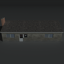 Low Poly House 11 - Extended License image 3