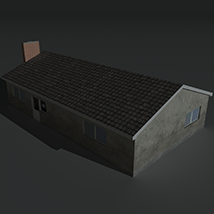 Low Poly House 11 - Extended License image 4
