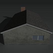 Low Poly House 11 - Extended License image 5