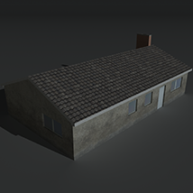 Low Poly House 11 - Extended License image 6