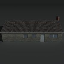 Low Poly House 11 - Extended License image 7