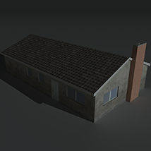 Low Poly House 11 - Extended License image 8