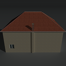 Low Poly House 12 - Extended License image 3