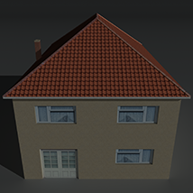 Low Poly House 12 - Extended License image 5