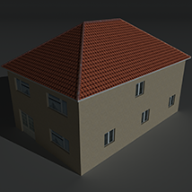 Low Poly House 12 - Extended License image 6