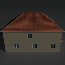 Low Poly House 12 - Extended License image 7