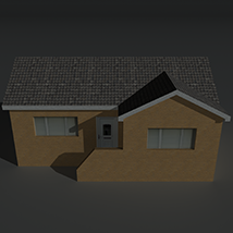 Low Poly House 13 - Extended License image 1
