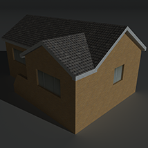 Low Poly House 13 - Extended License image 2