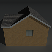 Low Poly House 13 - Extended License image 3