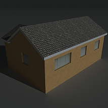 Low Poly House 13 - Extended License image 4