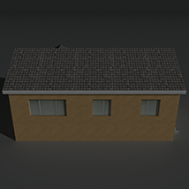 Low Poly House 13 - Extended License image 5