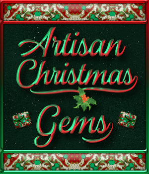Christmas Artisan Gems PS Layer Styles 2D Graphics Merchant Resources fractalartist01
