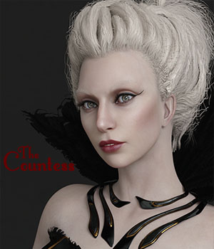 The Countess for Genesis 8 Female 3D Figure Assets Sangriart