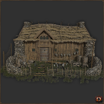 Medieval Small Village House1 image 3