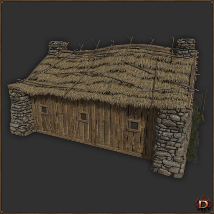 Medieval Small Village House1 image 4
