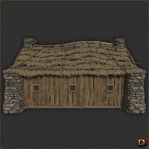 Medieval Small Village House1 image 5