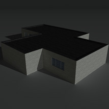 Low Poly Factory Building 1 - Extended Licence image 2