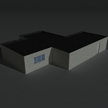 Low Poly Factory Building 1 - Extended Licence image 4