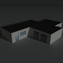 Low Poly Factory Building 1 - Extended Licence image 8