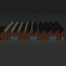 Low Poly Factory Building 2 - Extended Licence image 1