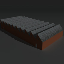 Low Poly Factory Building 2 - Extended Licence image 6