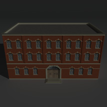 Low Poly Factory Building 4 - Extended Licence image 1